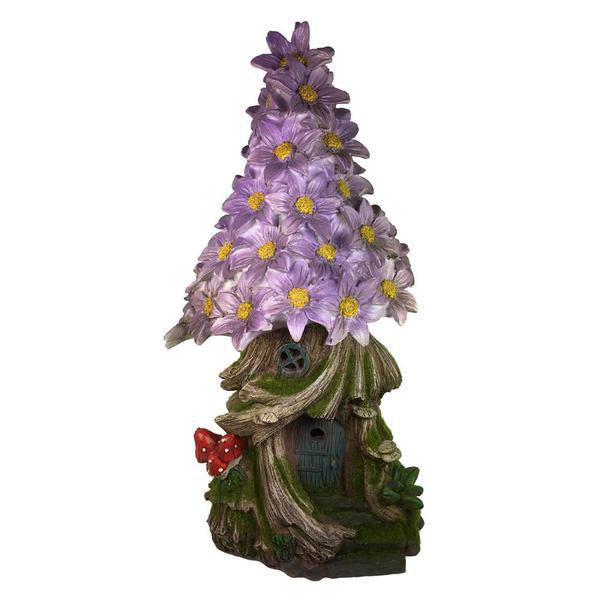 Flower House with Furniture Miniature Fairy Garden