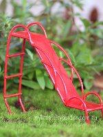 Miniature Metal Red Slide