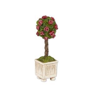 Miniature Merriment Mini Rose Topiary