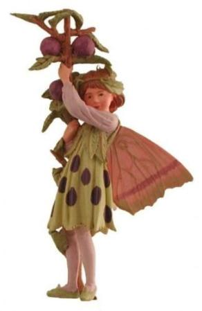 Sloe Flower Fairy Figurine