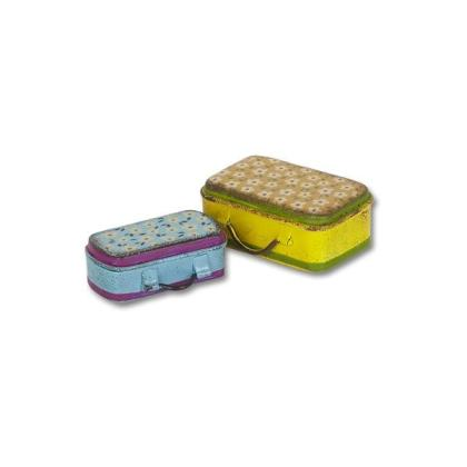 Miniature Suitcases Gypsy Garden