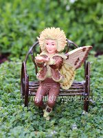 Sweet Chestnut Flower Fairy Figurine