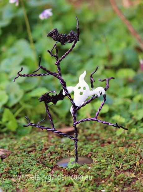Tree Ghost Bats Miniature Fairy Garden