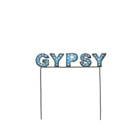 Miniature Gypsy Marquee Sign Gypsy Garden