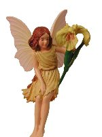 Iris Flower Fairy Figurine