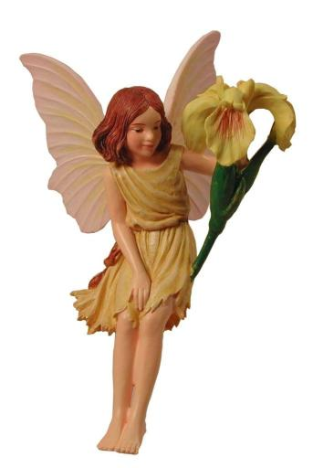 Iris Flower Fairy Figurine