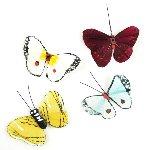 Butterflies Set of 4 Miniature Fairy Garden