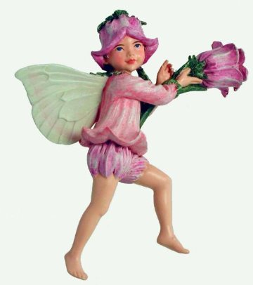Cantebury Bell Flower Fairy figurine
