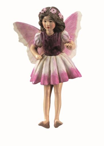 Heliotrope Flower Fairy Figurine