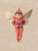 Mulberry Flower Fairy Figurine