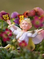 Pear Blossom Flower Fairy Figurine