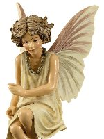 Queen of the Meadow Flower Fairy Figurine