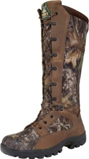 Rocky ProLight Waterproof Snakeproof Hunting Boot in Mossy Oak Camouflage