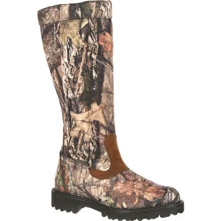 Rocky Low Country Waterproof Snake Boot - Mossy Oak Camo