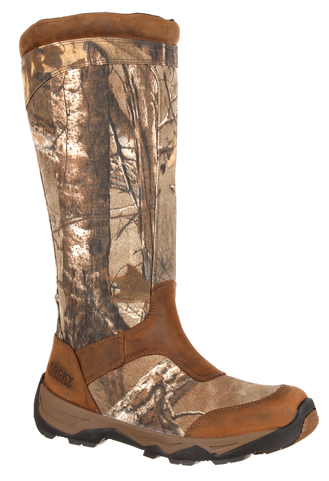 Rocky Retraction Waterproof Side-Zip Snake Boot Xtra® Camo