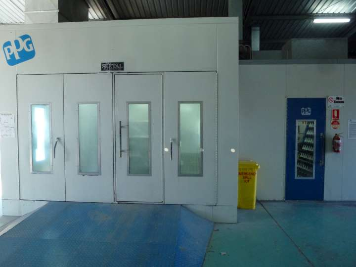 Our Paint Booth