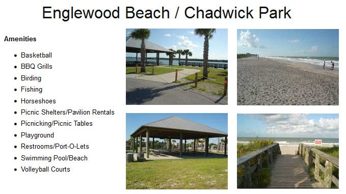 Englewood Beach, Chadwick Park Englewood FL