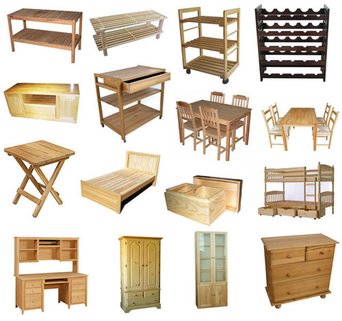 kinds of furniture used wood real wood furniture and anything made of wood that has surviving toxic mold exposure illness testing