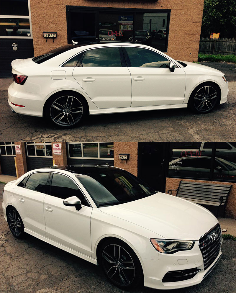 How Much Is Window Tinting >> Car Pretty Window Tinting - Philadelphia's #1 Automotive Window Tinting Specialists - Audi A3 ...