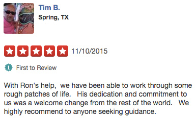 Reviews of counselors in The Woodlands