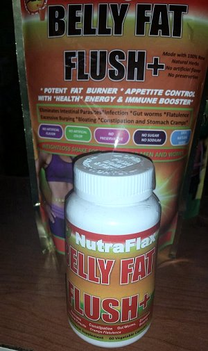 Get A Flat Stomach - Belly Fat Plus - Capsule