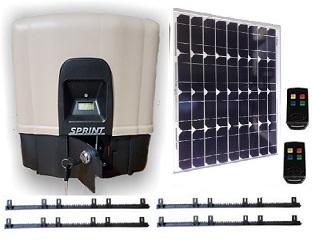 Solar SPRINT Powered Slider Gate Opener