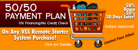 Remote Starter Payment Plan