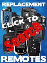 Code Alarm, Pursuit, Prestige, Ford Replacement Remotes FOBs