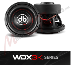 DB DRIVE WDX 3K Series Subwoofers