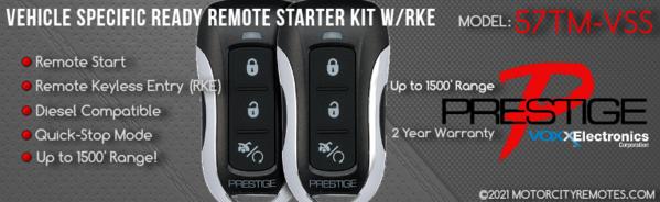 DIY Prestige 57TM-VSS Remote Starters