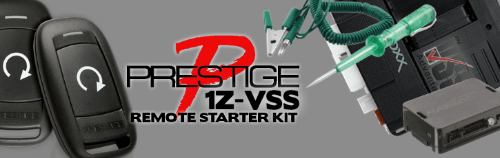 DIY Prestige 1Z-VSS Vehicle Specific System Remote Car Starter Kit