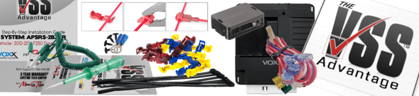 Prestige APSRS3Z Remote Starter Installation Kit