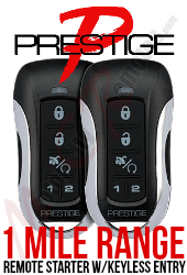 Prestige VEHICLE SPECIFIC READY APSRS-5BZLR REMOTE STARTER w/KEYLESS ENTRY