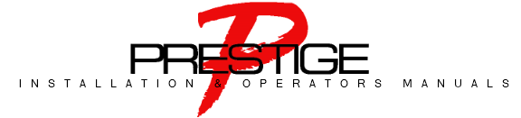 Prestige Owners and Operators Manuals Guides