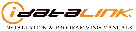 iDataLink Installation and Programming Manuals