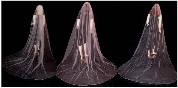 Wedding Veil Fullness
