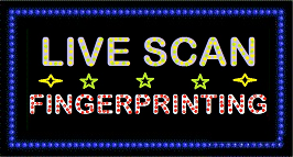 Live Scan - Fingerprint