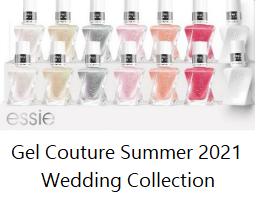 Essie Gel Couture 2021 Wedding Collection