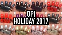 OPI Holiday 2017 XOXO