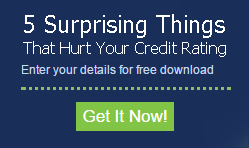 5 things that can hurt your credit rating