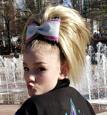 cheerleader hairpieces, Cheer hair piece