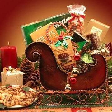 Seasonal Holiday Sleigh Gift