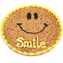 Smile Cookie Cake
