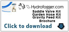 Saddle Valve, Garden Hose, Gravity Feed Kit Instructions