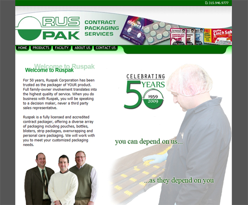 Ruspak Website