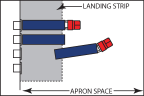 Loading Dock Apron Space For Truck Approach