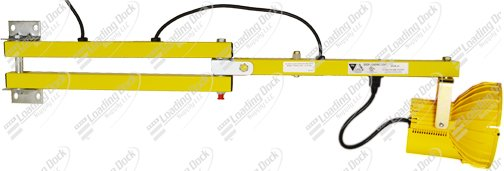 adjustable high pressure sodium dock light