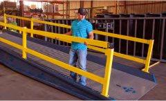 Yard Ramp Hand Railing