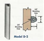 Extruded Dock Bumper Model D-2
