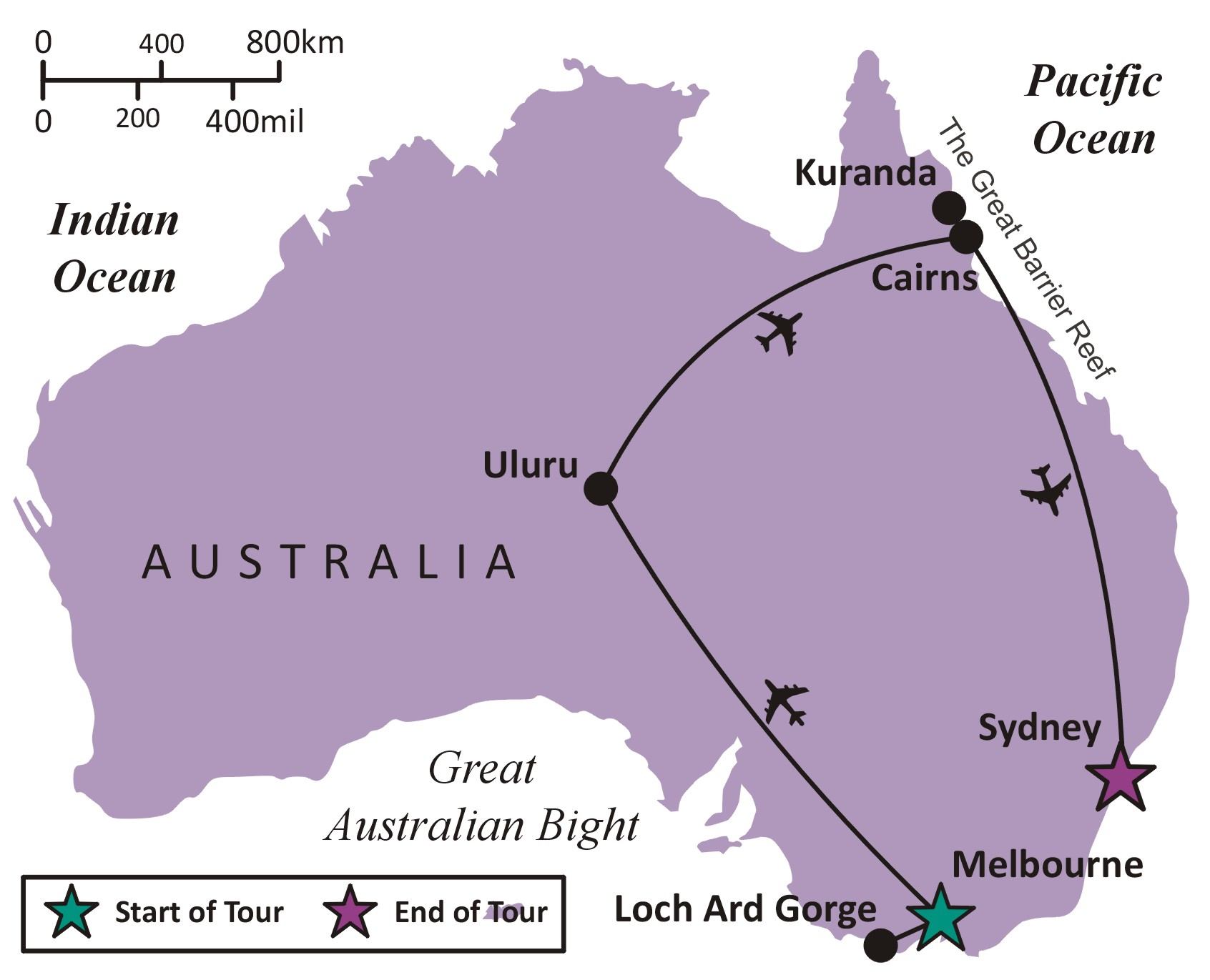 Sights and Soul Travels - The Spectacular Australia - Overview